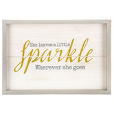 Little Sparkle Wood Wall Decor